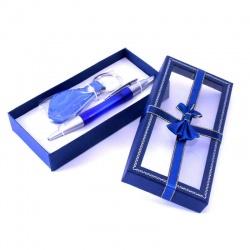 Bolígrafo con llavero en Estuche