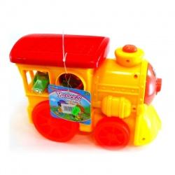 Locomotora con encastres y Bloks