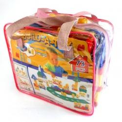 Cartera Blocks 73 piezas Build A Toy