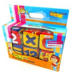 Cubo suave x 6 en caja.