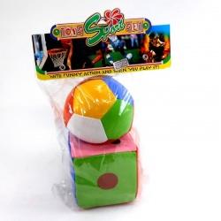 Set cubo y pelota Toys Sport Chico