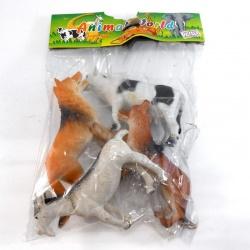 Bolsa de animales Animal World 4 piezas