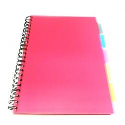 Cuadernola con Separadores 100 hojas