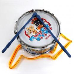 Tambor metalizado con palitos Toys N2082