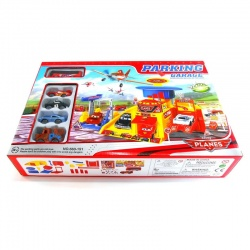 Caja de autitos Cars con Parking