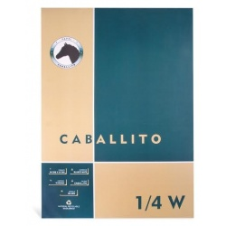 Block Caballito 1/4 W 100 grs.