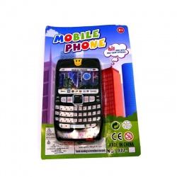 Teléfono celular en carton