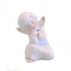 Angelito de porcelana caja de 2