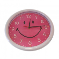 Reloj redondo de pared lovely varios colores