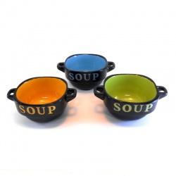 bouls ceramica mediano x1 varios colores