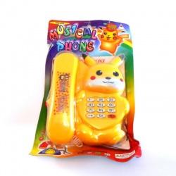 Teléfono musical picachu