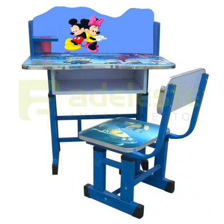 Escritorio mesa silla infantil for Sillas infantiles escritorio