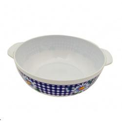 Bowl de melamina con tapa