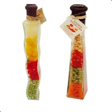 Botella vegetal mediana