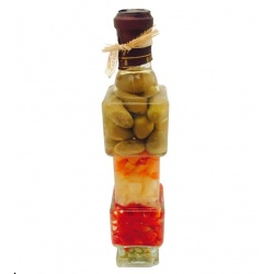 Botella vegetal grande