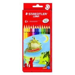 Lápiz de color STAEDTLER x 12 largos Alemán