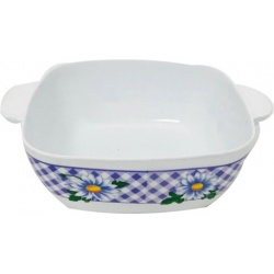 Bowl de melamina cuadrado 106
