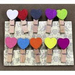 Palillos Decorativos Corazón Color I.139