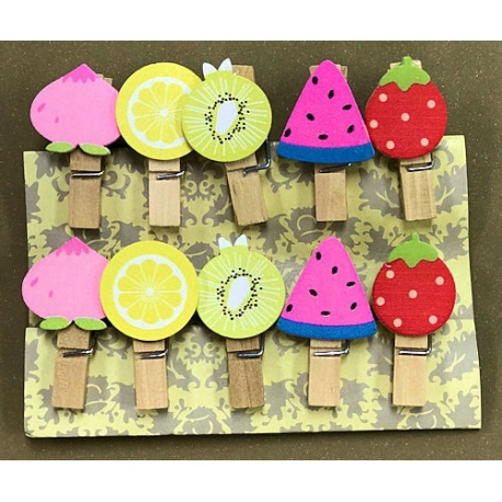 Palillo Decorativo Frutas I.139