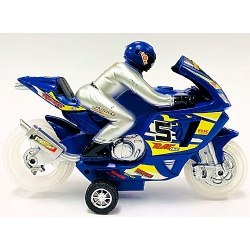 Moto con luz y conductor 998/5