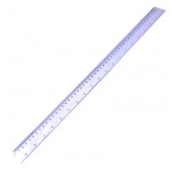 Regla 50 cm Cristal