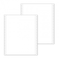 Papel fanfold 6x25