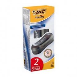Borrador BIC + 2 Marcadores