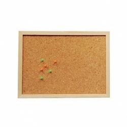 Pizarra de corcho Soft Wood 30x45