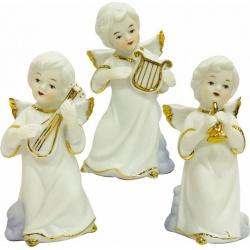 Angelito de porcelana x 3