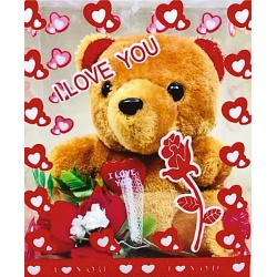 Osito Love You con Flores