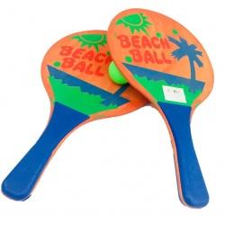 Paletas de Playa en red con pelota