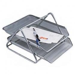 Bandeja porta papeles metal calada x 2