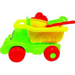 Camión playa con accesorios