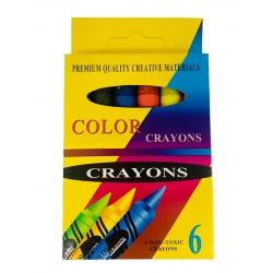 Crayolas x 6 Gruesa