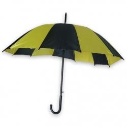 Paraguas  bicolor Amarillo y Negro