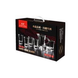 Juego de 6 vasos + Jarra 140ml I.3006
