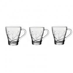 Taza de vidrio x6 i.3021