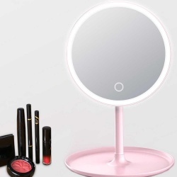 Espejo Redondo para maquillaje con luz i.420