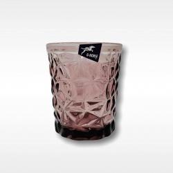 Vaso con Relieve transparente 10cm i.3002