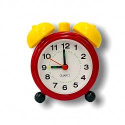 Reloj despertador campanas de plástico