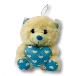 Peluche oso corazon  21cm