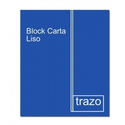 Block carta liso 87 TRAZO