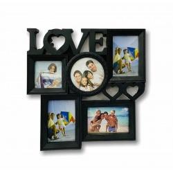 Portaretrato Divisiones 40x39cm Love I.009