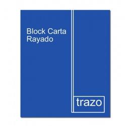 Block carta 97 rayado TRAZO