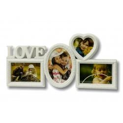 Portaretrato 49x24cm Love I.008