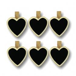 Palillo Decorativo Pizarra Corazón I.139