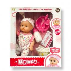 Bebé Goma con Accesorios I.6030