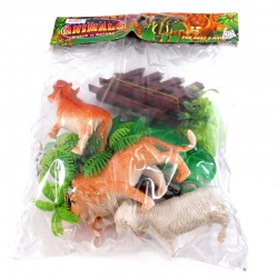 Bolsa de animales Animal World of Nature 6885/1