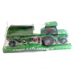Tractor con zorra Farm Exploiter con acoplado o cosechadora