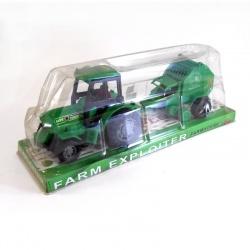 Tractor con cosechadora Farm Exploiter 08/02